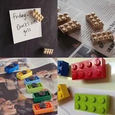 Lego Hacks: 10 ideias criativas para transformar objetos dentro de casa usando LEGO! - Follow the Colours Minecraft Crafts, Art Minecraft, Skins Minecraft, Diy Arts And Crafts, Diy Crafts For Kids, Legos, Lego Hacks, Lego Decorations, Lego Bedroom