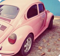 Baby pink Bug - I love this!