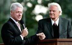 In North Carolina gay marriage vote, it's Bill Clinton versus Billy GrahamPresident Bill Clinton and evangelist Billy Graham have lent their voices to opposite sides of North Carolina's gay marriage debate. Here, they are shown together during Graham's Crusade at Flushing Meadows Corona Park June 25, 2005 in the Queens borough of New York.By Miranda Leitsinger, msnbc.com As North Carolina prepares to vote on a controversial amendment to the state constitution that would define marriage as…