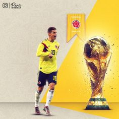 James Rodríguez Colombia FIFA WORLD CUP 2018