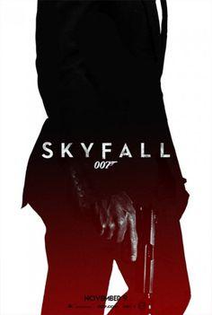 """The Bond movie """"Skyfall"""" James Bond Movie Posters, James Bond Movies, Cinema Posters, Film Posters, Movie Theater, Movie Tv, James Bond Skyfall, Fan Poster, Kino Film"""