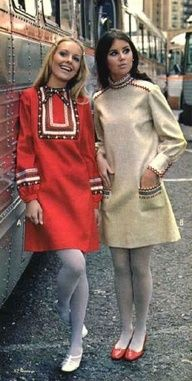 Prominent fashion designer of the 60's Mary Quant introduced the mini skirt in the middle part of the decade, and women's fashion would be forever changed. Description from pinterest.com. I searched for this on bing.com/images