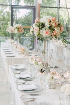WedLuxe– A Contemporary Wedding with Refined, Blush-Hued Details   Photography By: Purple Tree Photography. Follow @WedLuxe for more wedding inspiration!