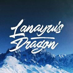 Lanayru's Dragon. Brush Lettering