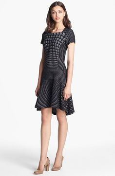 Diane von Furstenberg 'Hansine' Knit A-Line Dress available at #Nordstrom