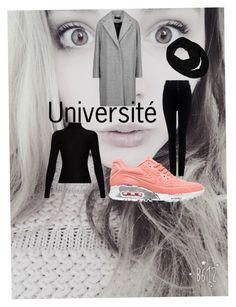 """Université"" by fauvette56 on Polyvore featuring mode, Citizens of Humanity, NIKE, Acne Studios, rag & bone et Sofiacashmere"