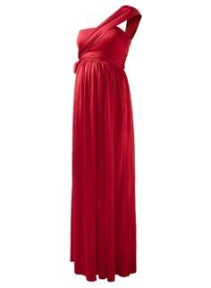 Wrap Column Dress