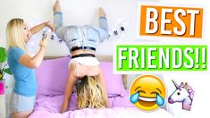 10 Things Best Friends Do!!! Alisha Marie - YouTube