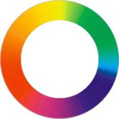 A color wheel is a way of representing the visible spectrum in a circular form, with colors arranged in sequence around the circumference in order of spectral frequency.    The wheel allows us to  to form color relationships between the hues.    The wheel also allows us to regard each hue as a separate color entity.