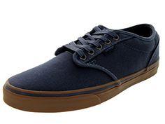 Vans Atwood, Herren Sneakers, Blau (distressdress Blue