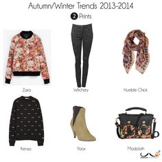 prints autumn winter trends 2013-2014 #fasion #trends