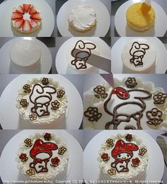 1000 images about fondant tutorial on pinterest fondant for Anpanman cake decoration