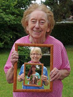"""""""Im Rahmen der Zeit"""" fängt Vier Generationen in einem Bild ein. Von Tierparktoni im CEWE Fotowettbewerb """"Zeit"""""""