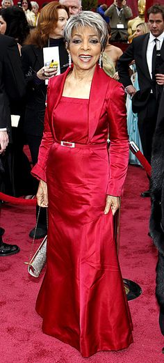 Soror Ruby Dee .... in crimson.