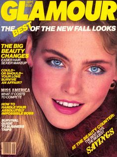 Vintage Glamour Magazine Covers: Glamour.com.sept 1980