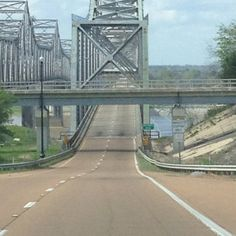 Natchez-Vidalia bridge.  I had to drive across it when I was in driver's training and it was 2 lane!