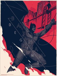 The Poster Boys - Mondo posters for BATMAN BEGINS, THE DARK KNIGHT,...