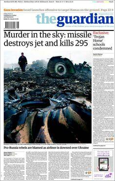 18 Jul 2014 Malaysia Airlines MH17 Ucrania  298 death