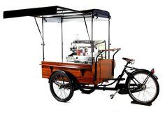 Triporteur Café , option assistance électrique