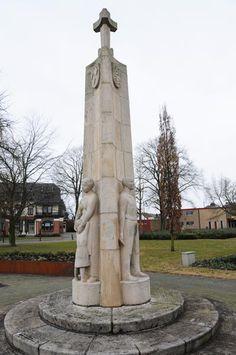 1951Monument voor de gevallenenJohn Grosman (ontwerp: Jan Jans)Weth. E. van Dronkelaarplein