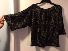 NOTATIONS 3/4 sleeves SIZE XL #Notations #KnitTop