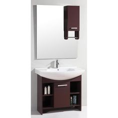 @Overstock - This bathroom vanity from Legion Furniture includes a full-sized mirror with an additional cabinet for extra storage space. A white ceramic single sink contrasts nicely with the purple burgundy finish of this elegant vanity set.  http://www.overstock.com/Home-Garden/Ceramic-Top-36-inch-Single-Sink-Mirror-Bathroom-Cabinet-Wall-Vanity/7194900/product.html?CID=214117 $655.00