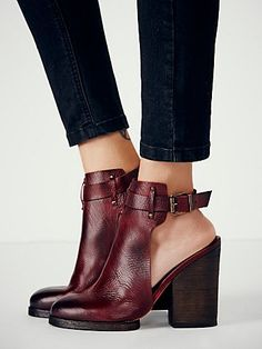 Breton Heeled Boot-- these shoes are a dream come true