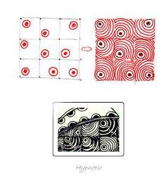 #Hypnotic #zentangle