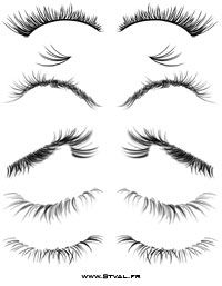 eyelash brushes and tutorial how to use them Zeichentechniken Drawing Techniques, Drawing Tips, Drawing Sketches, Pencil Drawings, Painting & Drawing, Art Drawings, Sketching, Drawing Ideas, Art Du Croquis