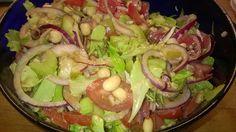 Tupun tupa: Spelttinen soijapapusalaatti