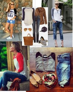 This is everything I love about fall fashion; baseball tee with ankle boots and boyfriend jeans; Fall Outfits, Casual Outfits, Cute Outfits, Baseball Tees, Baseball Outfits, Winter Stil, Sweater Weather, Boyfriend Jeans, Winter Fashion