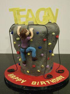 rock climbing birthday cake toronto by www.fortheloveofcake.ca, via Flickr