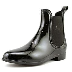 97a72a628 Dirty Laundry Womens CHARIOT Round Toe Rain Snow Boots Black Size 60 * This  is an