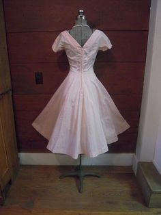 Beautiful Vintage 50s Jonathan Logan Pink by vintageclothiers, $95.00