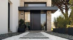 Main Door Design, House, Home, House Inspo, Modern, New Homes, Contemporary Decor, Front Door, Renovations