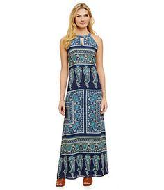 Cremieux Sara Printed Maxi Dress   Dillard's Mobile