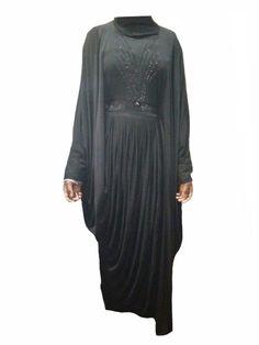 Farasha Abaya, High Neck Dress, Fabric, Collection, Dresses, Fashion, Turtleneck Dress, Tejido, Vestidos