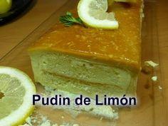 Pudin de Limón  (receta fácil)