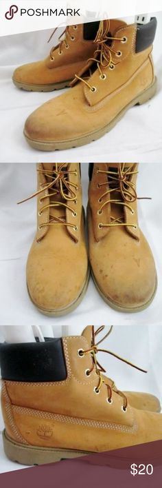 6a32ea217507 TIMBERLAND 10960 BIG KIDS 6 Inch Basic WATERPROOF Awesome pair of boys    youth TIMBERLAND 10960 big kids 6