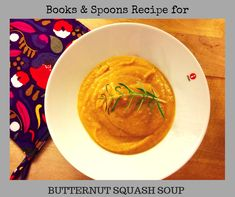 1 butternut squash 1 large sweet potato olive oil 1 cup of cream 2 TBSP honey 2 cups of vegetable stock 1 red onion 1 Chinese garlic salt pepper cinnamon nutmeg Chinese Garlic, Butternut Squash Soup, Vegetable Stock, Garlic Salt, Spoons, Sweet Potato, Curry, Stuffed Peppers, Fruit