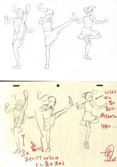 アニメ私塾(@animesijyuku)さん | Twitterの画像/動画 Animation Storyboard, Animation Reference, Drawing Reference Poses, Drawing Poses, Art Reference, Drawing Practice, Figure Drawing, Character Drawing, Character Design