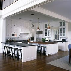 Traditional Kitchen In A Non Totally Open Floor Plan Home Darien CT By Mark P