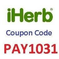 iHerb Coupon Code: PAY1031  10% OFF new and existing customers  JUST CLICK ON https://ro.iherb.com/?rcode=PAY1031