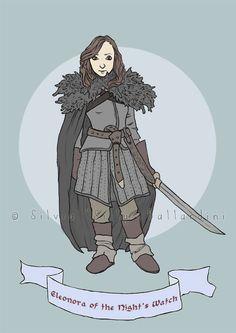 Game of Thrones inspired custom portrait  Game by SillyLunastorta