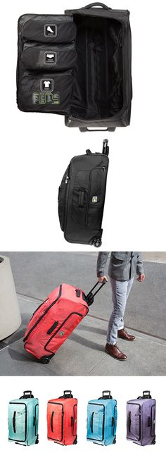 Genius Pack // Super smart, super roomy suit case with Laundry Compression Technology™ + internal panel engineered with unique organizational compartments #product_design