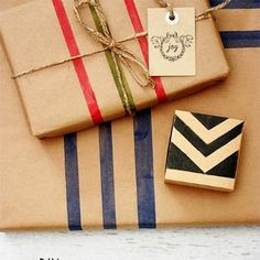 26 Creative Gift Wrapping Ideas with Kraft Paper