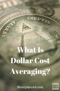 What Is Dollar Cost Averaging? - Dollar cost averaging is a well established, tested, and extremely reliable approach to accumulate wealth.      An investor who wants to put a lump sum of money into the stock market or mutual funds is wise to invest the money over a period of time in equal installments in order to avoid the devastating effect of a drop in the stock or mutual fund's share price immediately after investing a single, lump-sum investment.