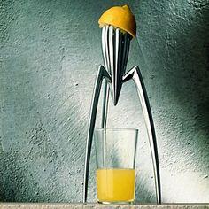 Alessi Citrus Squeezer.  Iconic design
