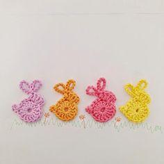 Annemarie's Haakblog: Cute bunnies