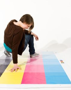 Playing CMYK Twister